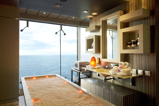 DI MSC Aurea Spa Massage room 02 MSC Divina, ma che divino !
