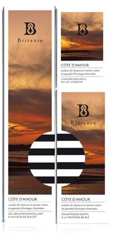 """Côte d'Amour, """"ze"""" nouvelle ligne Britanie."""