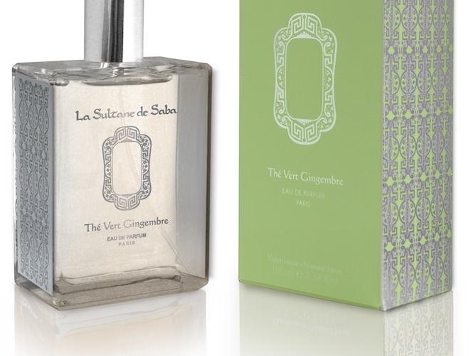 Thé vert et gingembre, une fragrance so Saba !