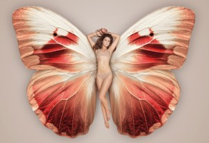 Femme Papillon