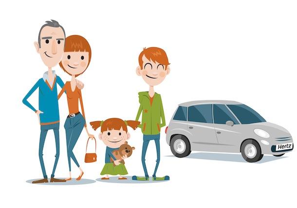 famille voiture