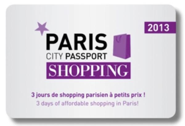 Un City Passport nominatif et valable 3 jours pour shopper à prix réduit.