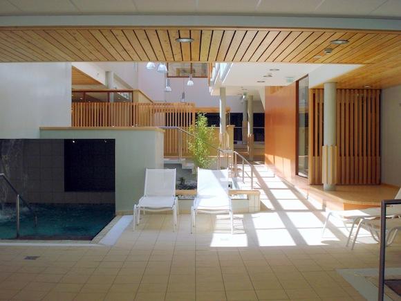 4 bassins pour le spa thermal des Lauzes. ©DR.