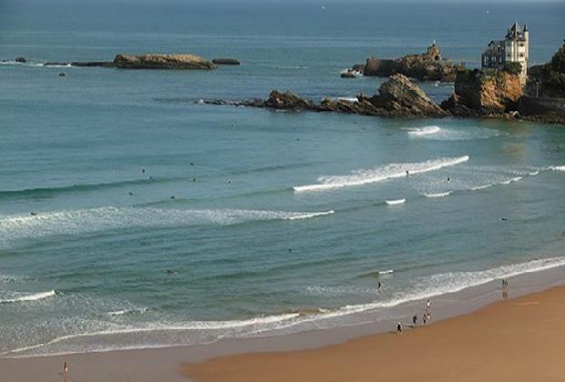 Côte des Basques, plus belle plage de France, waouh !