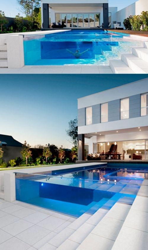 10 piscines qu 39 on mettrait bien chez nous la bulle. Black Bedroom Furniture Sets. Home Design Ideas