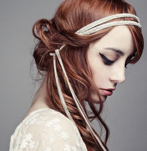 Chignon avec headband tresse - Chignon avec headband ...