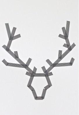 Masking tape motif