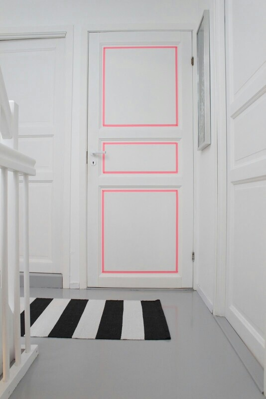 Masking tape portes