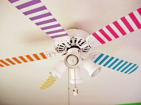 Masking tape ventilateur