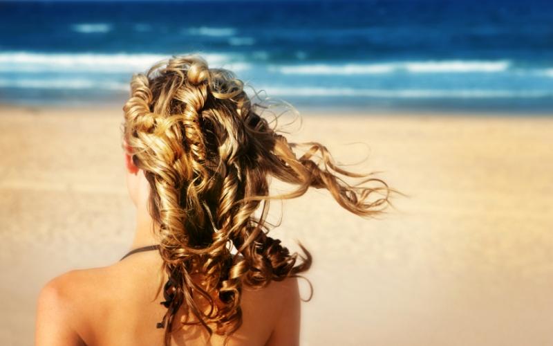 Mes cheveux en vacances