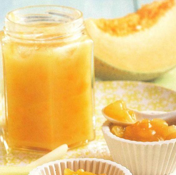 Confiture melon banane coco citronnelle