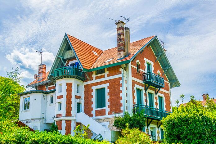 Les villas typiques de la Ville d'Hiver