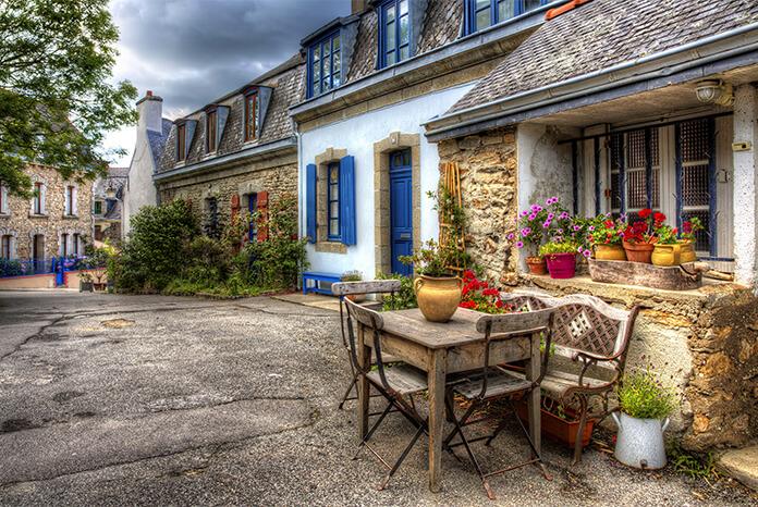 pause déjeuner à Concarneau