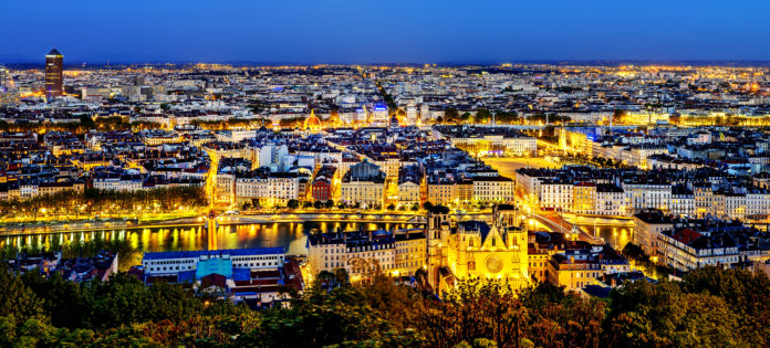 Que faire à Lyon - ville vue du ciel