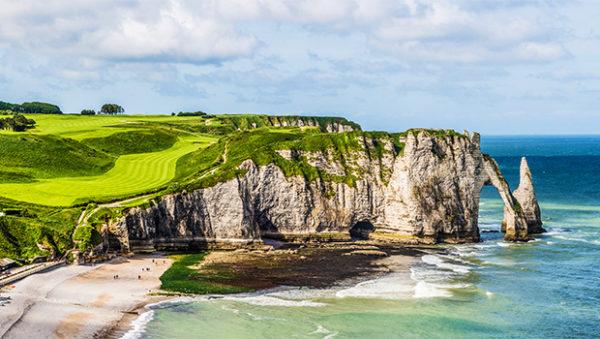 Normandie, falaise d'Etretat